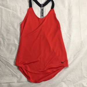 Nike   Red Athletic Tank, XS